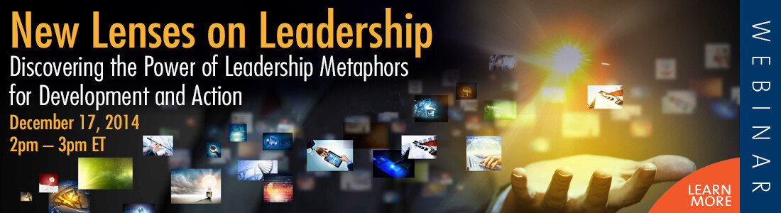 Free Webinar – New Lenses on Leadership