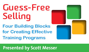Guess-Free Selling: Four Building Blocks for Creating Effective Training Programs