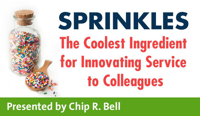 Sprinkles: The Coolest Ingredient for Innovating Service to Colleagues