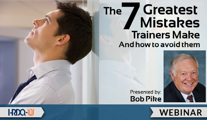 7 Greatest Mistakes Trainers Make (and How to Avoid Them)