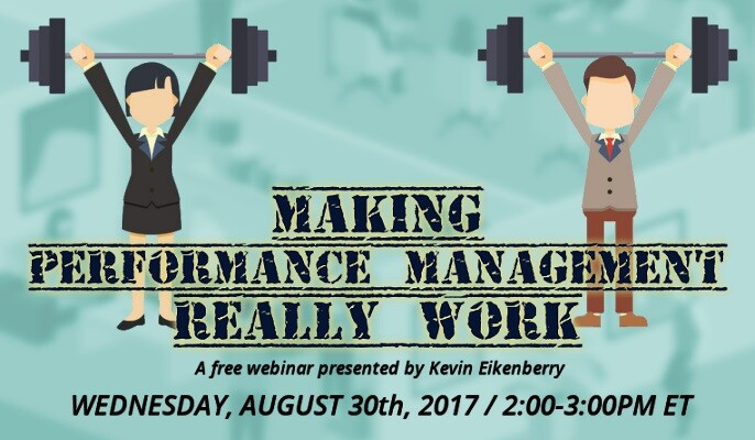 Making Performance Management Really Work