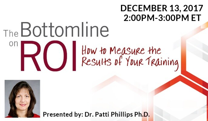 The Bottomline on ROI: How to Measure the Results of Your Training
