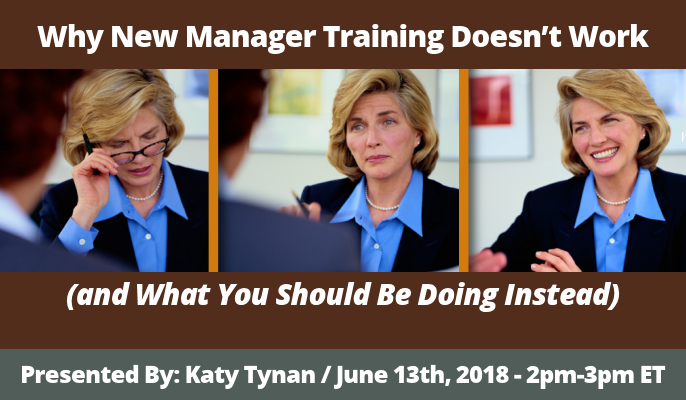 Why New Manager Training Doesn't Work (and What You Should Be Doing Instead)