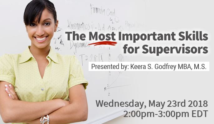 The Most Important Skills for Supervisors