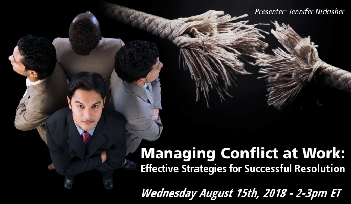 Managing Conflict at Work: Effective Strategies for Successful Resolution