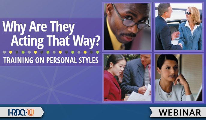 Why Are They Acting That Way? Training on Personal Styles