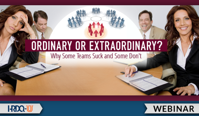 Ordinary or Extraordinary? Why Some Teams Suck and Some Don't