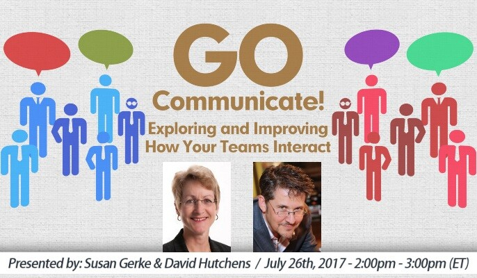 GO Communicate!: Exploring and Improving How Your Teams Interact