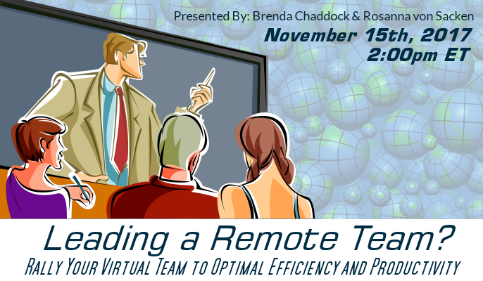 Leading a Remote Team? Rally Your Virtual Team to Optimal Efficiency and Productivity