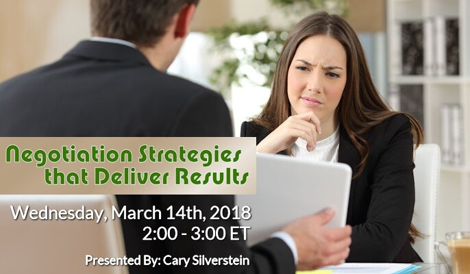Negotiation Strategies that Deliver Results