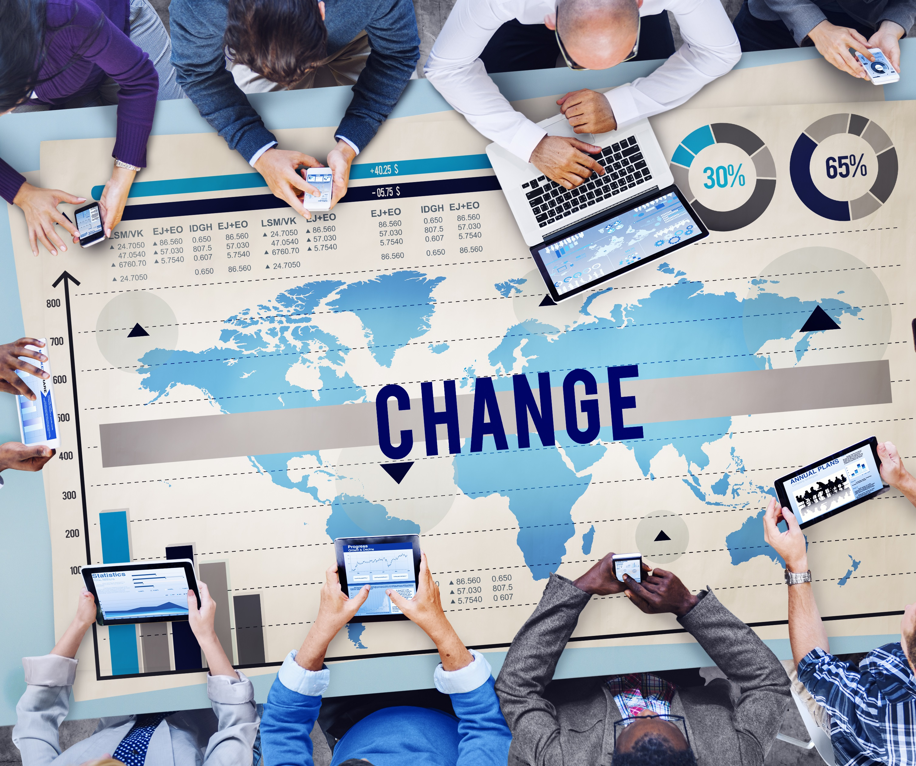 How to Lead Workplace Change