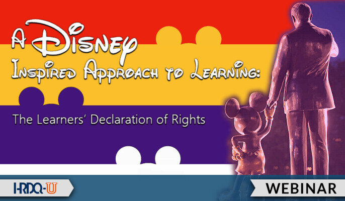 A Disney Inspired Approach to Learning: The Learners' Declaration of Rights