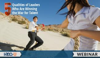 HRDQ-U Webinar | The 5 Qualities of Leaders Who Are Winning the War for Talent