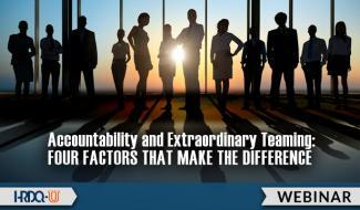 HRDQ-U Webinar | Accountability and Extraordinary Teaming