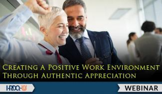 HRDQ-U Webinar | Creating A Positive Work Environment