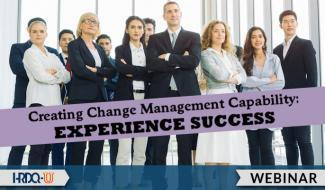 HRDQ-U Webinar | Creating Change Management Capability
