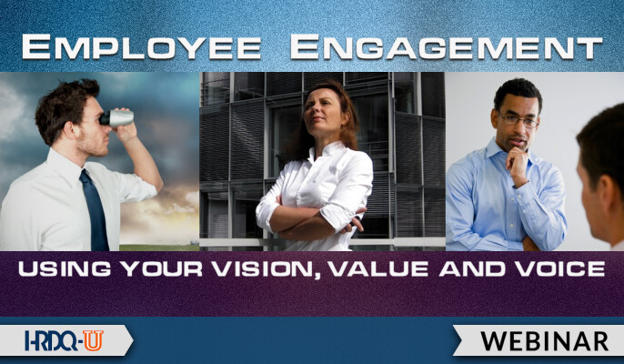 HRDQ-U Webinar | Employee Engagement Using Your Vision Value and Voice