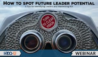 HRDQ-U Webinar | How to Spot Future Leader Potential