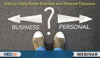 HRDQ-U Webinar | How to Make Better Business and Personal Decisions