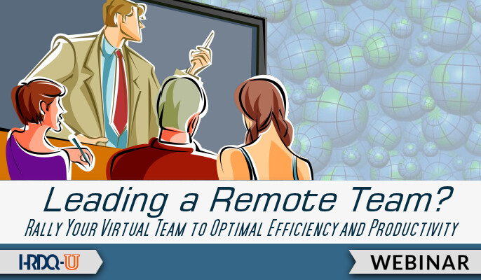 HRDQ-U Webinar | Leading a Remote Team