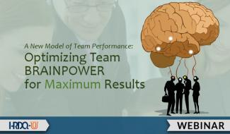 HRDQ-U Webinar | Optimizing Team Brainpower for Maximum Results