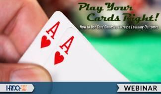 HRDQ-U Webinar | Play Your Cards Right