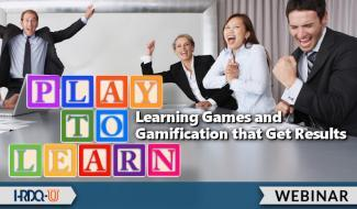 HRDQ-U Webinar | Play To Learn