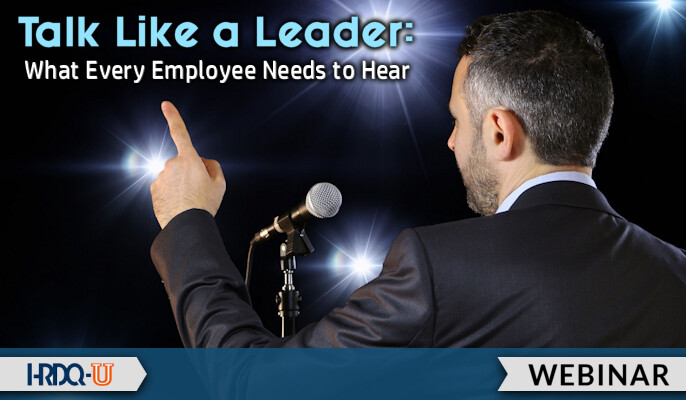 HRDQ-U Webinar | Talk Like a Leader