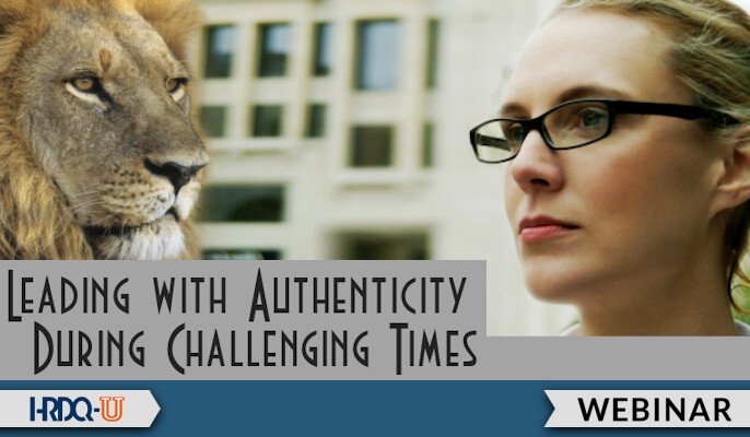 HRDQ-U Webinar | Leading With Authenticity